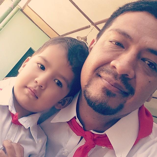 Padre e hijo...