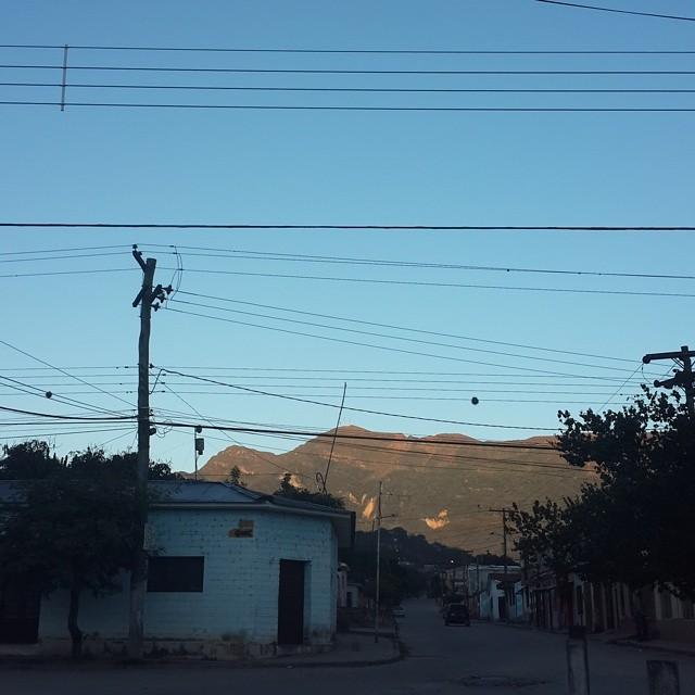 El amanecer en el #Sararenda #Camiri